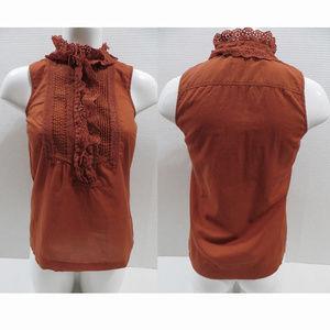 J.Crew top 2 Bettina Cami sleeveless button front